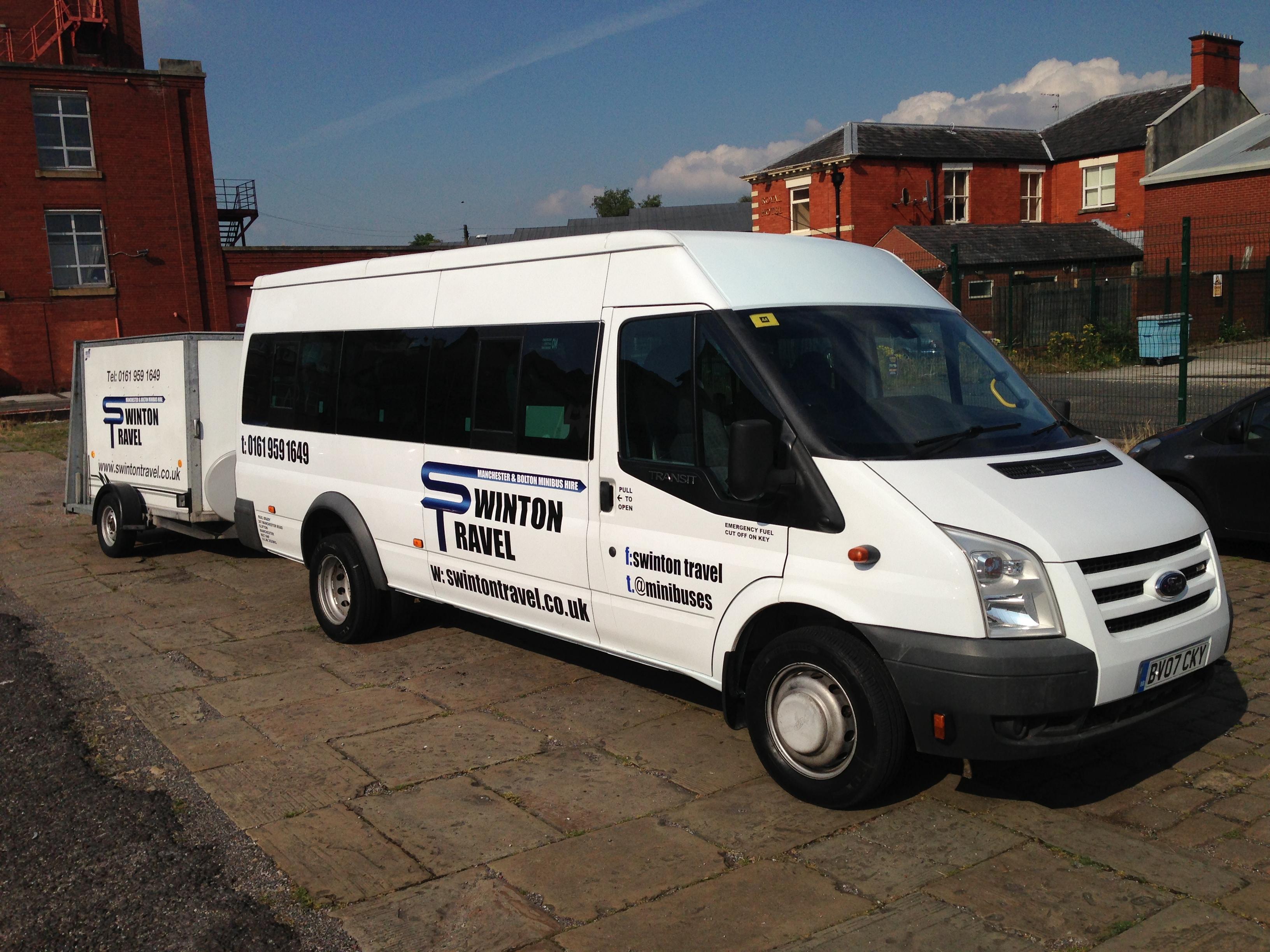 Minibus And Trailer - Minibus Hire Manchester