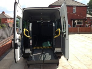 Disabled Minibus - Minbus Hire Manchester
