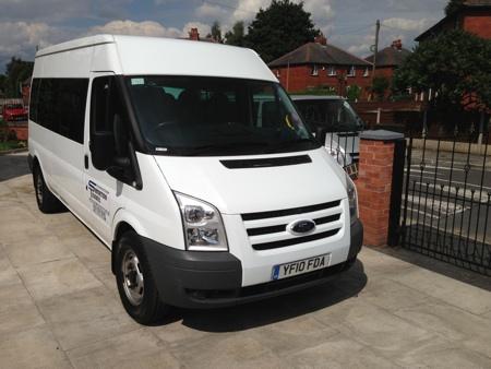 14 Seater Minibus - Minbus Hire Manchester