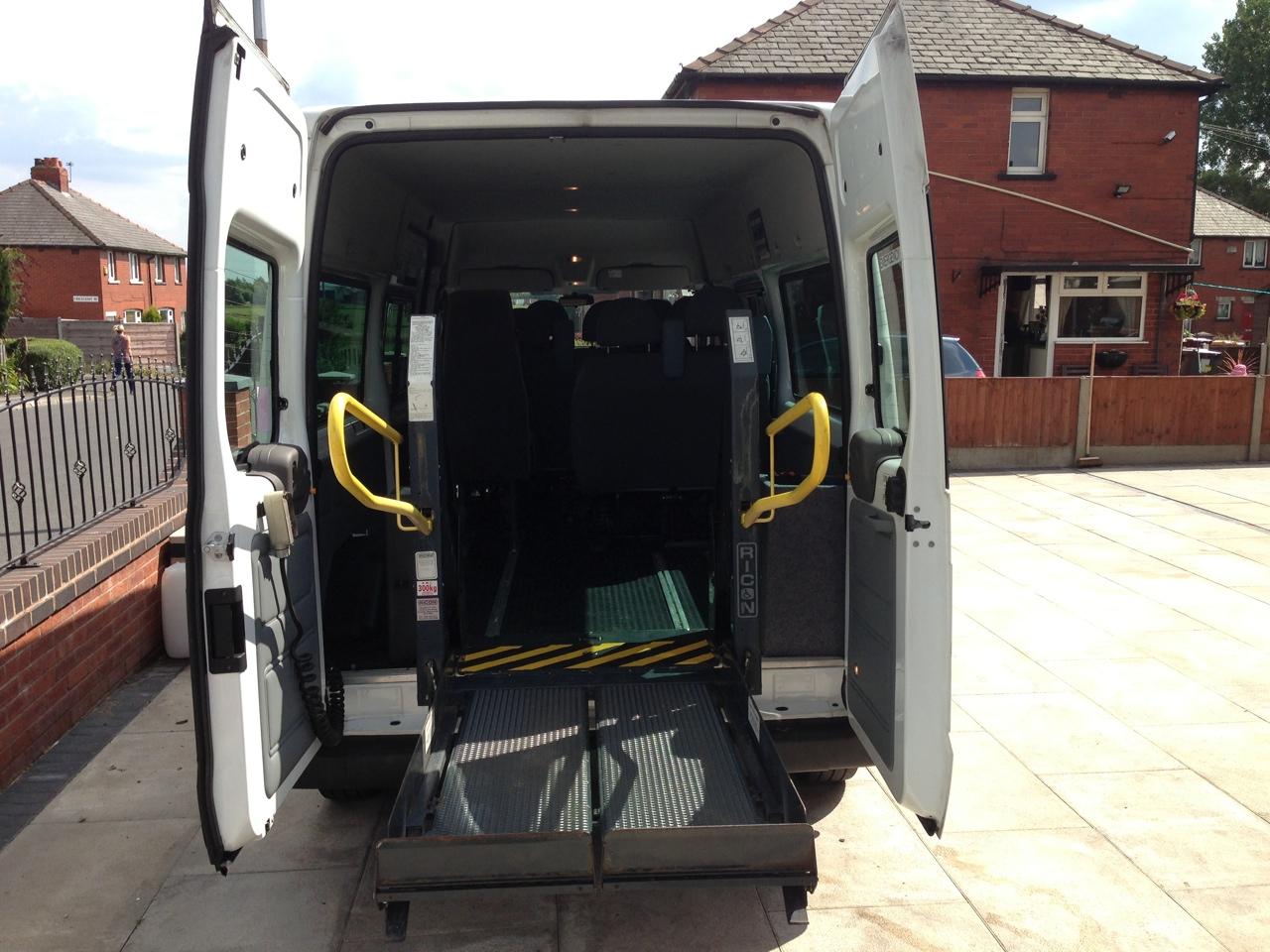 disabled minibus manchester - Minibus Hire Manchester