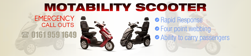 Motability Scooter Callout