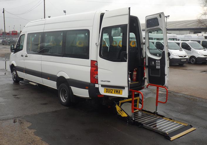 Wheelchair Minibus Manchester