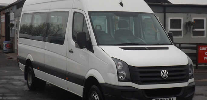 wheelchair accessible vw crafter minibus hire manchester. Black Bedroom Furniture Sets. Home Design Ideas