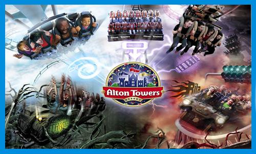 Alton Towers minibus transfers