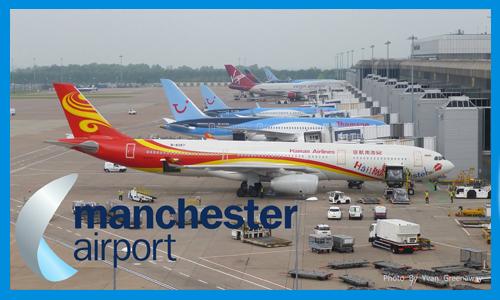 Manchester airport minibus transfer